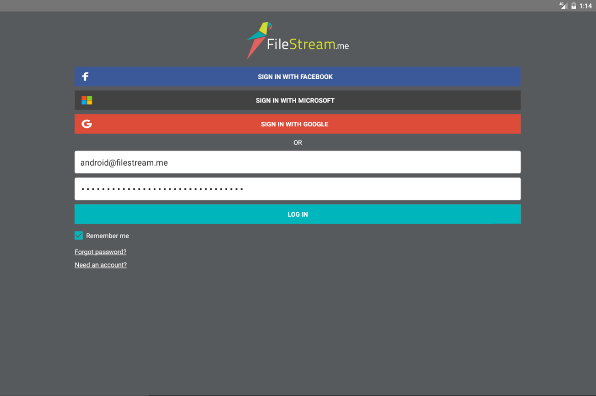 FileStream.Me- screenshot