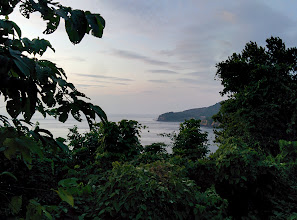 Photo: The southern tip of Koh Lanta is mountainous, densely forested, and full of monkees.