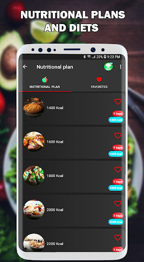 Nutrition and Fitness Coach: Diets and Recipes Pro ss2