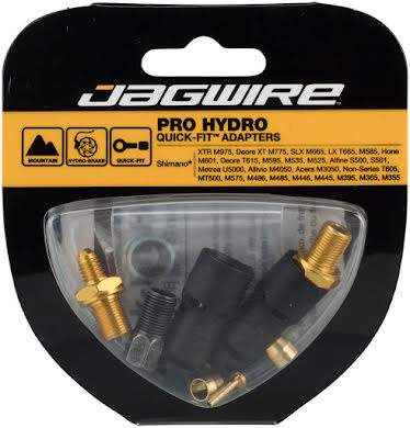 Jagwire Pro Disc Brake Hydraulic Hose Quick-Fit Adapters for Shimano Brakes alternate image 0