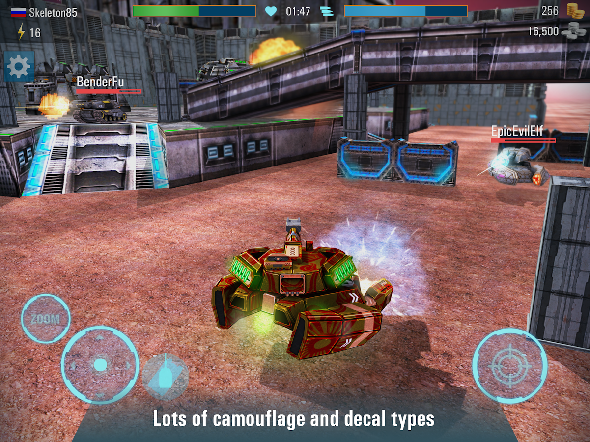 Iron Tanks: Free Multiplayer Tank Shooting Games- screenshot