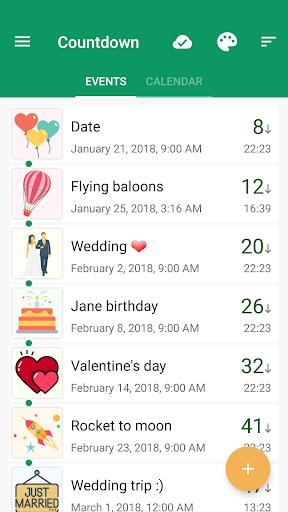 Countdown Widget screenshot 1