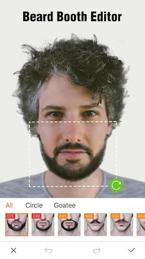 Beard Photo Editor Screenshot 1 2