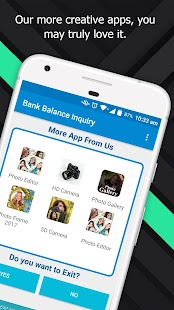 Bank Balance Check | 100% free | No internet - náhled