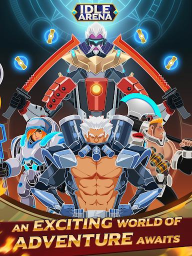 Idle Arena - Clicker Heroes Battle 5007 screenshots 15