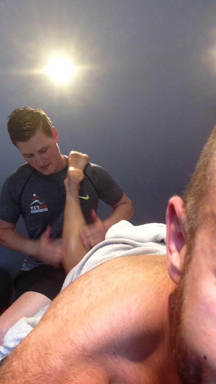In de kijker - Sportmassage Nufit Philippe Nardella