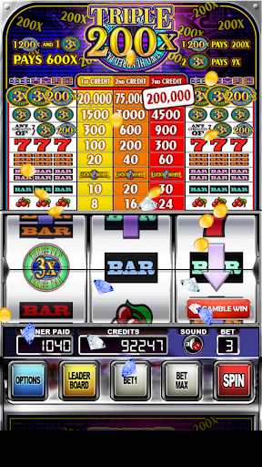 Triple 200x Pay Slot Machines android2mod screenshots 1