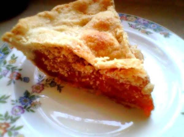 Dried Apricot Pie Recipe