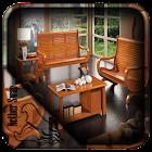 Sala de madeira Cadeiras icon