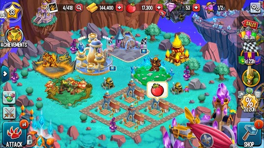 Monster Legends MOD 6.3.6 (Win With 3 Stars) APK 6