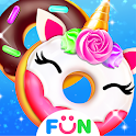 Cook Donut Maker - Unicorn Food Baking Games icon