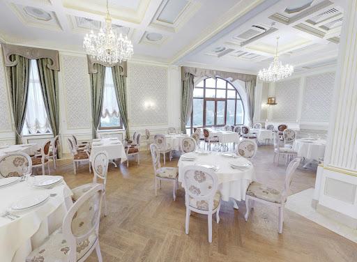 Банкетный зал в ресторане PrimaVera для свадьбы