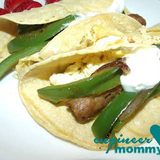 Tailgater's Breakfast Burrito.