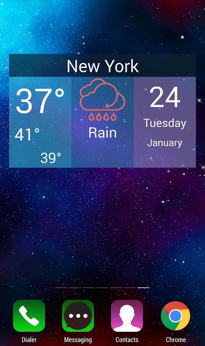 Скриншот Как погода (Widget)