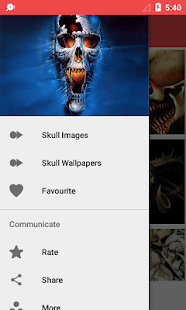 Skull Wallpaper HD- screenshot thumbnail
