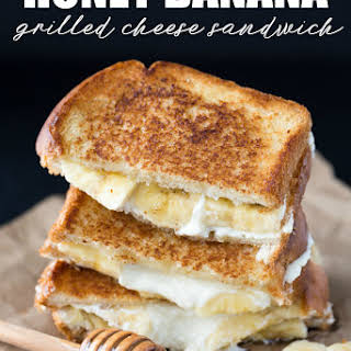 Honey Banana Grilled Cheese Sandwich.