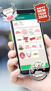 New year Stickers for WAStickerApps 2020 - náhled