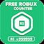 Free Robux Counter icon