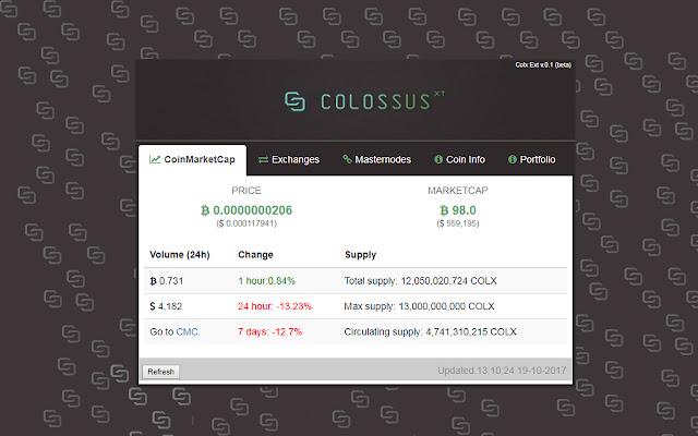COLX Info