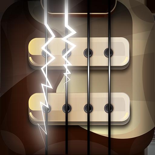 音乐のベースギター LOGO-記事Game