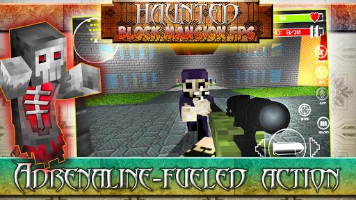 Haunted Block Mansion FPS Mod