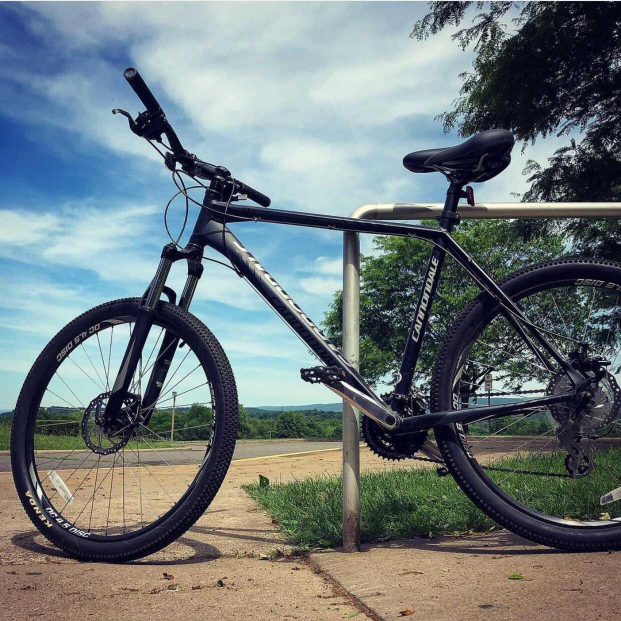 Matt's bike