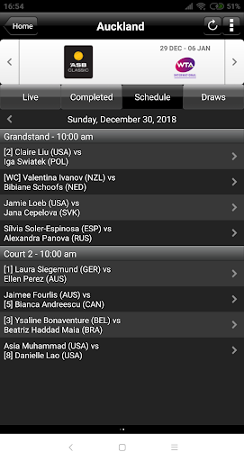 ATP/WTA Live 1.2.60 screenshots 5
