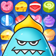 Match 3 Puzzle: Sweet Monster