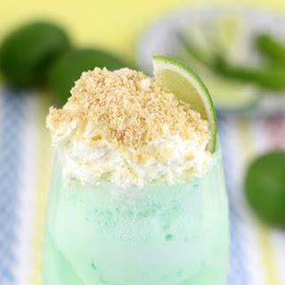Refreshing Lime Sherbet Float
