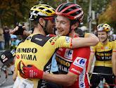 Primož Roglič gaat met rode en groene trui naar huis na Vuelta