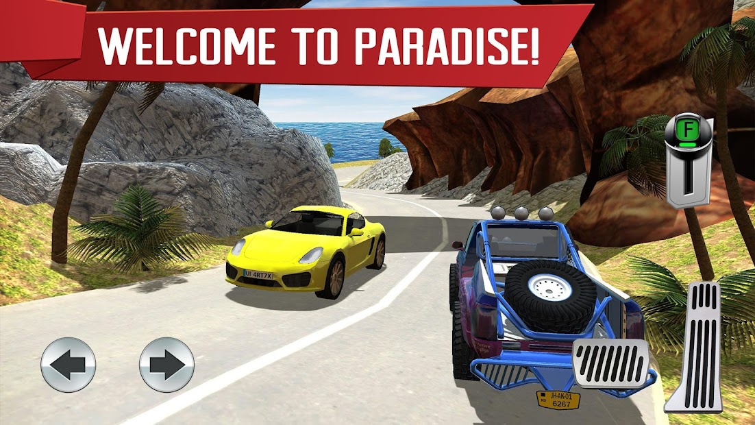Parking Island: Mountain Road Android App Screenshot