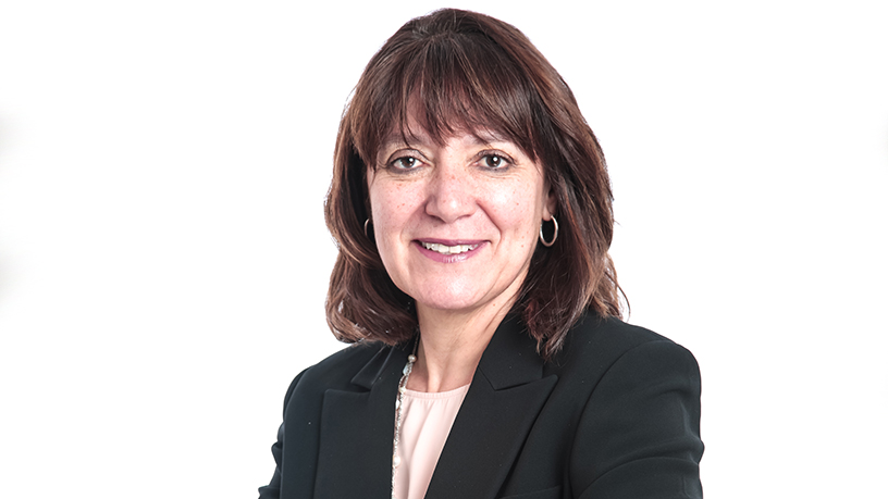 Cathy Smith, SAP's first female MD for Africa.