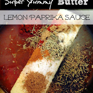 Super Yummy Butter Lemon Paprika Sauce