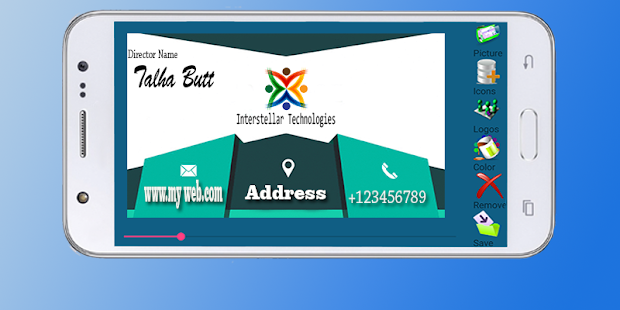 Business card maker android apps on google play business card maker screenshot thumbnail reheart Gallery