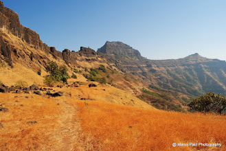Photo: Leaving behind Rajgad...