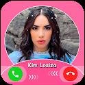 Kim Loaiza Fake call : chat & live prank icon