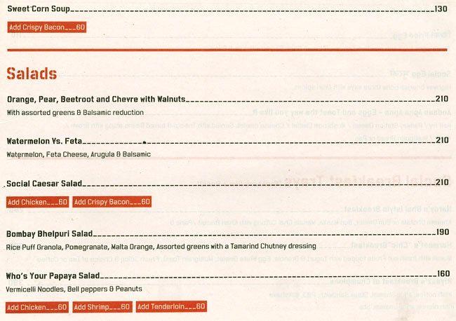 Hauz Khas Social menu 4