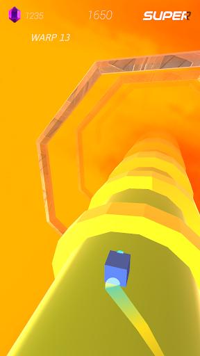 Warp and Roll - running flight action game 1.1.7 screenshots 7