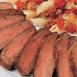 Southern Italian Steak and Pasta.