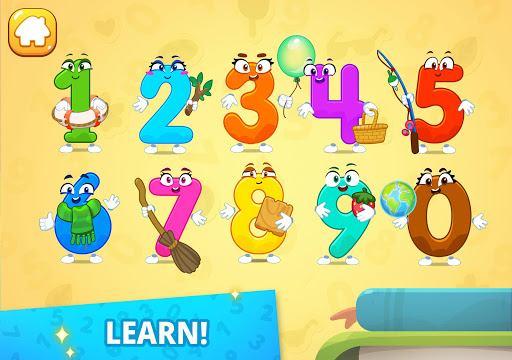 Numbers for kids! Counting 123 games!  screenshots 8