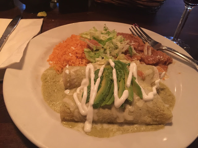 Gfree enchilada's.  All items that are Gfree on menu are marked.
