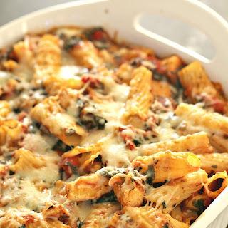 Chicken and Spinach Pasta Casserole Recipe