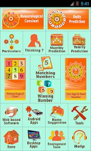 Numerology Vedic Free - náhled