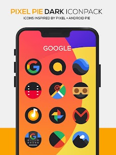 Pixel Pie DARK Icon Pack v3.8 [Patched] 2
