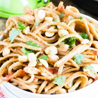 Instant Pot Thai Peanut Noodles.