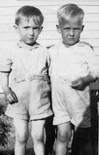 Photo: Loren Balkcom and Bud Franks c1931