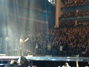 Photo: Mick dancing in front of 118/113