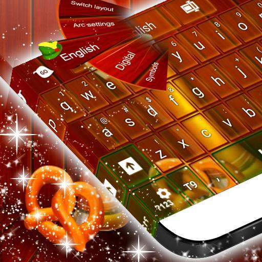 键盘的德国主题 社交 App LOGO-硬是要APP