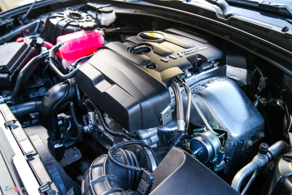 động cơ xe camaro