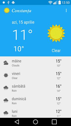 Vremea in Constanța